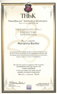 Theta Healing - Instruktor DNA 3 - 06.09.2013