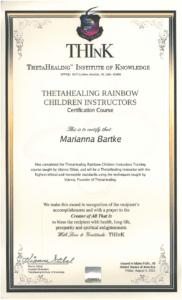Theta Healing - Instruktor Dzieci Tęczy - 05.08.2011