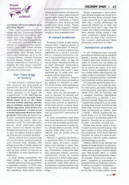 Nieznany Świat 09/17 - Poczet Healerów Polskich strona 2