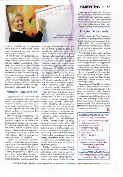 Nieznany Świat 09/17 - Poczet Healerów Polskich strona 4