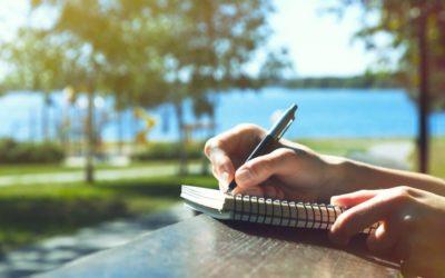 Piszę do Ciebie list.